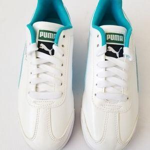 PUMA Roma Basic Glitter Sneaker Big Kid Sz4